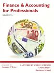 Picture of Finance and Accounting for Professionals (Custom Book of Thomas & Ward)