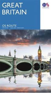 Picture of Great Britain OS Route Map: 2017