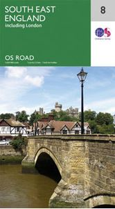 Picture of South East England 8 OS Road Map