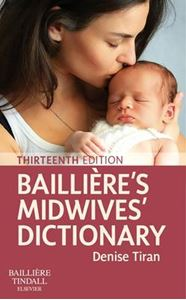Picture of Bailliere's Midwives' Dictionary 13ed