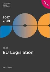 Picture of Core EU Legislation 2017-18