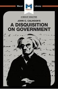 Picture of John C. Calhoun's A Disquisition on Government