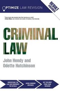 Picture of Optimize Criminal Law