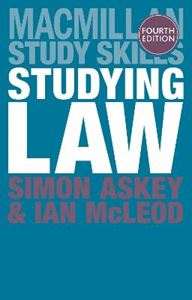 Picture of Studying Law 4ed