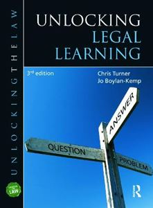 Picture of Unlocking Legal Learning 3ed