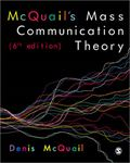Picture of McQuail's Mass Communication Theory
