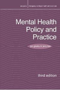 Picture of Mental Health Policy and Practice 3ed