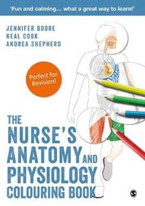 Picture of Nurse's Anatomy and Physiology Colouring Book