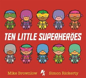 Picture of Ten Little Superheroes