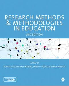 Picture of Research Methods and Methodologies in Education 2nd revised ed.