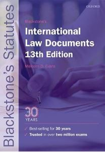 Picture of Blackstone's International Law Documents 13ed