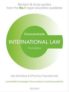Picture of International Law Concentrate 3ed: Law Revision and Study Guide