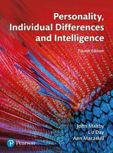 Picture of Personality, Individual Differences and Intelligence 4ed