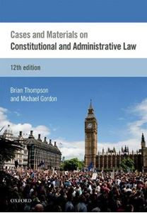 Picture of Cases & Materials on Constitutional & Administrative Law