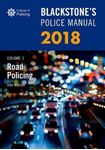 Picture of Blackstone's Police Manual Volume 3: Road Policing 2018