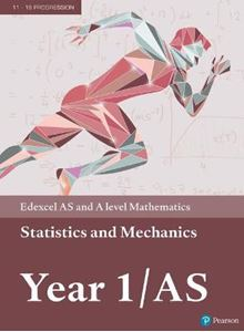 Picture of Edexcel AS and A level Mathematics Statistics & Mechanics Year 1/AS Textbook + e-book