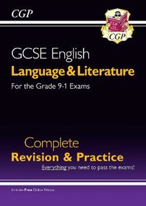 Picture of New Grade 9-1 GCSE English Language and Literature Complete Revision & Practice (with Online EDN)