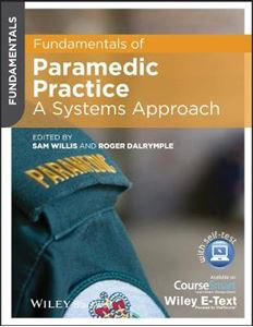 Picture of Fundamentals of Paramedic Practice - a Systems Approach, Includes Wiley E-text