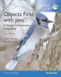 Picture of Objects First with Java: A Practical Introduction Using BlueJ, Global Edition
