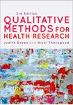 Picture of Qualitative Methods for Health Research