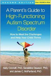 Picture of Parent's Guide to High-Functioning Autism Spectrum Disorder
