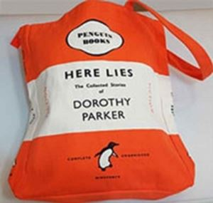 Picture of Here Lies... Dorothy Parker Book Bag