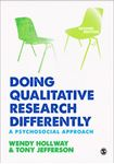 Picture of Doing Qualitative Research Differently: A Psychosocial Approach