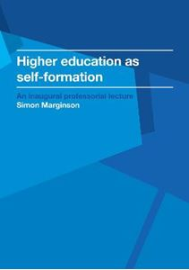Picture of Higher education as self-formation