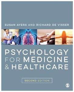 Picture of Psychology for Medicine and Healthcare 2ed