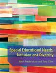 Picture of Special Educational Needs, Inclusion and Diversity 3ed