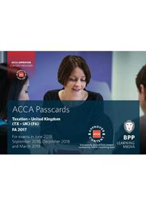 Picture of ACCA F6 Taxation FA2017: Passcards