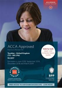 Picture of ACCA F6 Taxation FA 2017: Practice and Revision Kit
