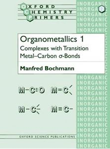 Picture of Organometallics 1: Complexes with Transition Metal-Carbon α-bonds