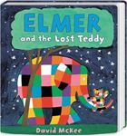 Picture of Elmer and the Lost Teddy: Board Book