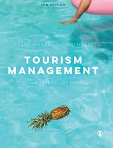 Picture of Tourism Management: An Introduction 2ed