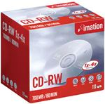 Picture of Imation CD-RW 4x 10pk Jewel case