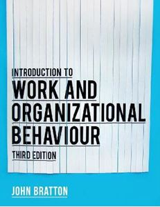 Picture of Introduction to Work and Organizational Behaviour 3ed