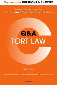Picture of Concentrate Questions and Answers Tort Law: Law Q&A Revision and Study Guide