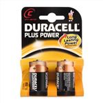 Picture of C Alkaline Duracell Batteries 2 Pack