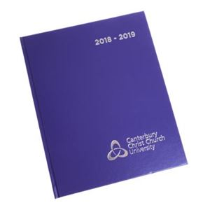 Picture of CCCU Diary A5 Week to View Purple