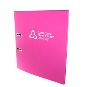 Picture of A4 Lever Arch Pink