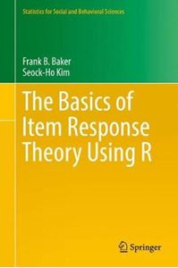 Picture of Basics of Item Response Theory Using R
