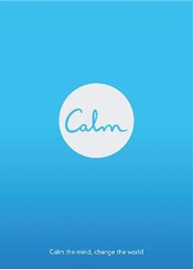 Picture of Calm: Calm the Mind. Change the World