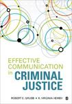 Picture of Effective Communication in Criminal Justice