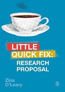 Picture of Research Proposal: Little Quick Fix