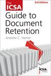 Picture of ICSA Guide to Document Retention
