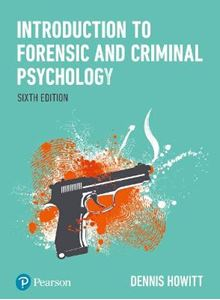 Picture of Introduction to Forensic and Criminal Psychology 6ed