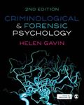 Picture of Criminological and Forensic Psychology 2ed