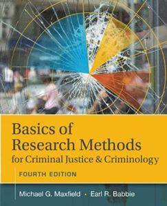 Picture of Basics of Research Methods for Criminal Justice and Criminology