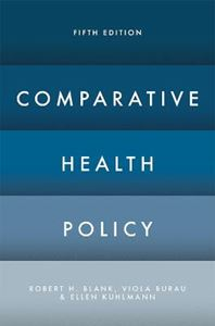 Picture of Comparative Health Policy 5ed